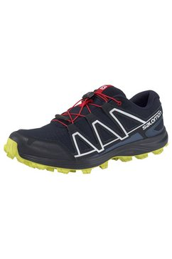 salomon runningschoenen »alkalin trail« blauw