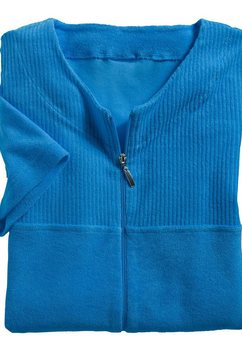 wewo fashion damesbadjas blauw