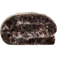 star home textil deken lynx bijzonder zacht, van hoge kwaliteit bruin