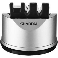 sharpal »knife  scissors sharpener« messenslijper zilver