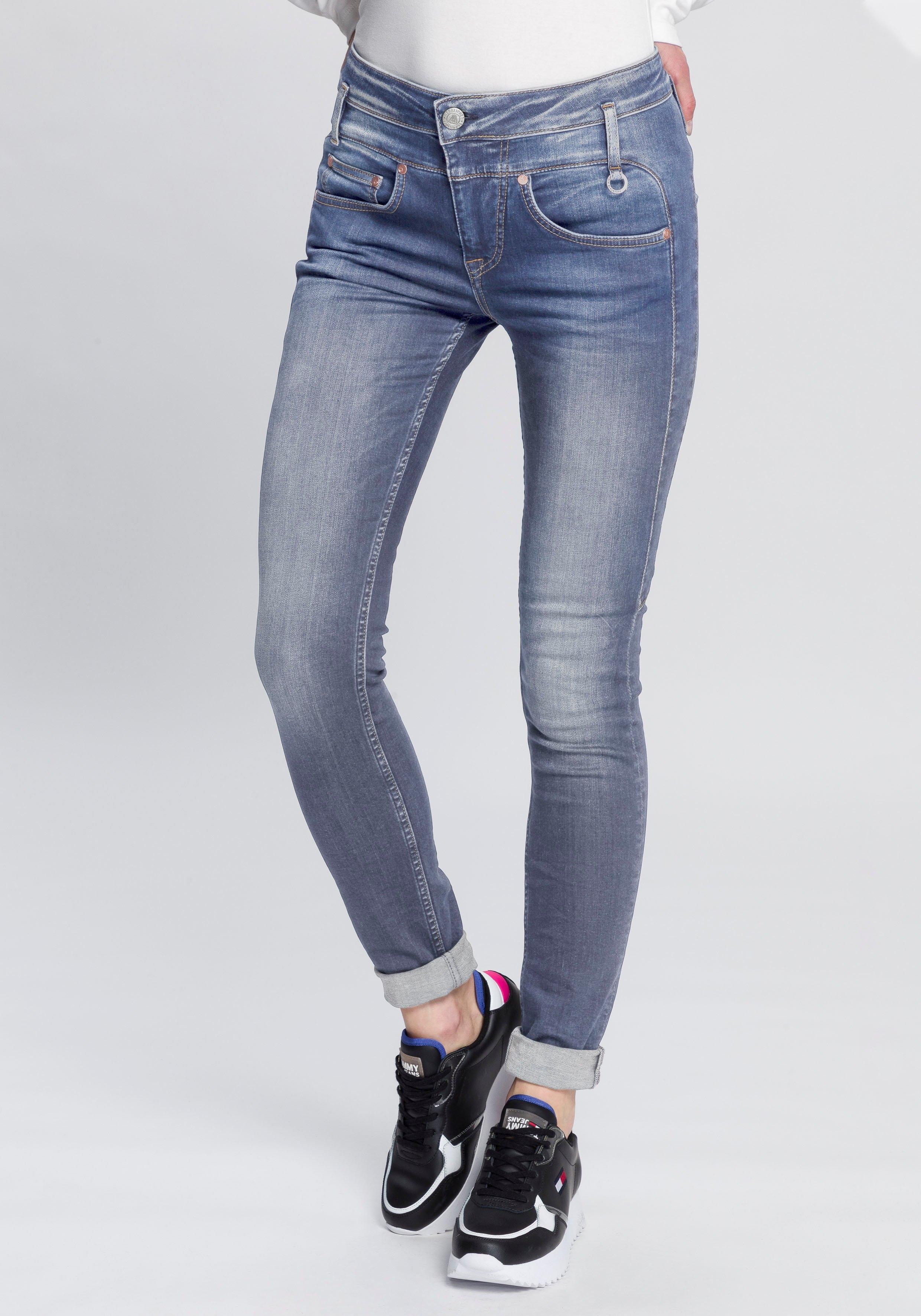 Herrlicher slim fit jeans »SHARP SLIM ORGANIC« goedkoop op otto.nl kopen