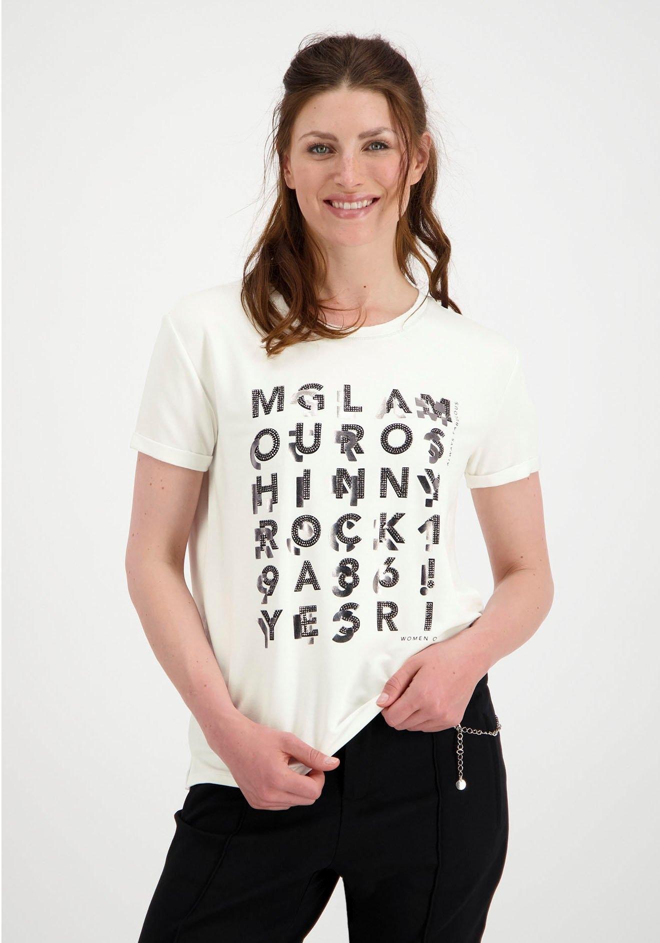 Monari shirt met ronde hals nu online kopen bij OTTO