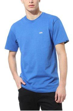 vans t-shirt »left chest logo tee« blauw