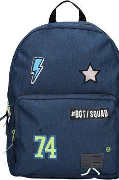 vadobag kinderrugzak »skooter boy squad, navy« blauw