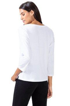 biederlack shirt met print wit