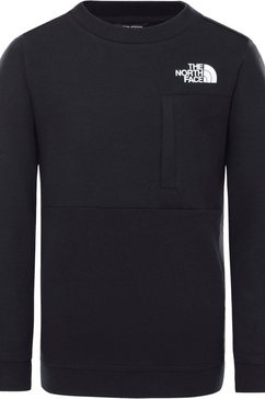 the north face sweater zwart