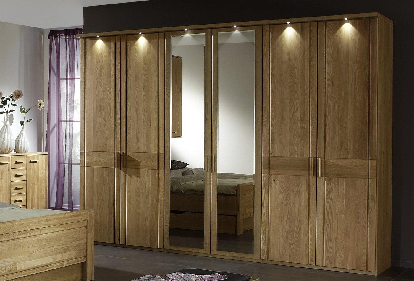 WIEMANN garderobekast Münster met spiegeldeuren