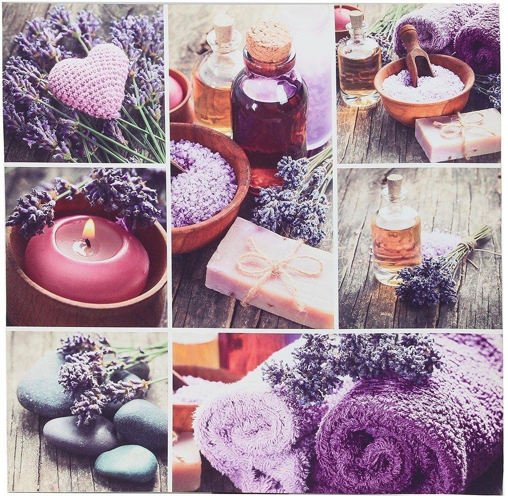 Ambiente Haus artprint op linnen Lavendel Artprint 50 cm (1 stuk) nu online bestellen