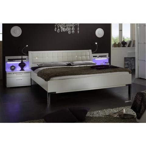 WIEMANN Bed Dubai in 3 breedten zilver Wiemann 293734