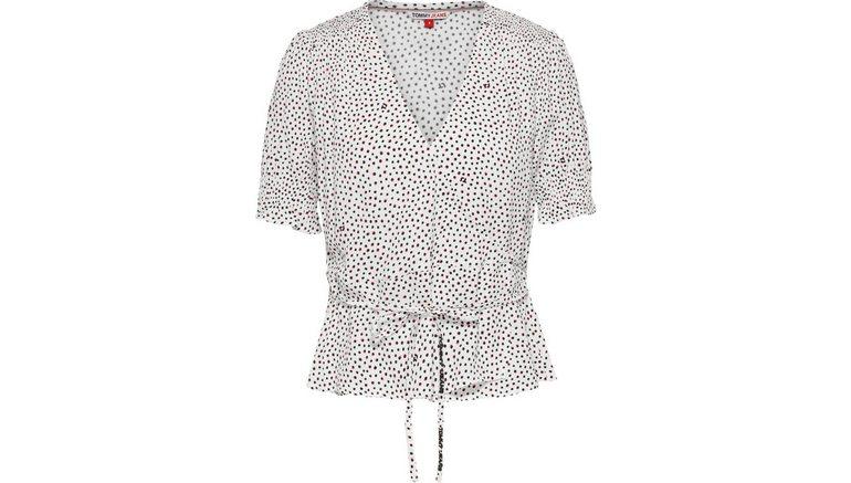 TOMMY JEANS blouse met korte mouwen