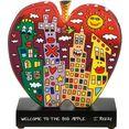 goebel decoratief figuur welcome to the big apple door james rizzi multicolor
