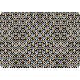 queence set placemats ps0114 (set, 4 stuks) zwart