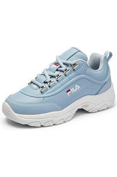 fila sneakers »strada low wmn« blauw