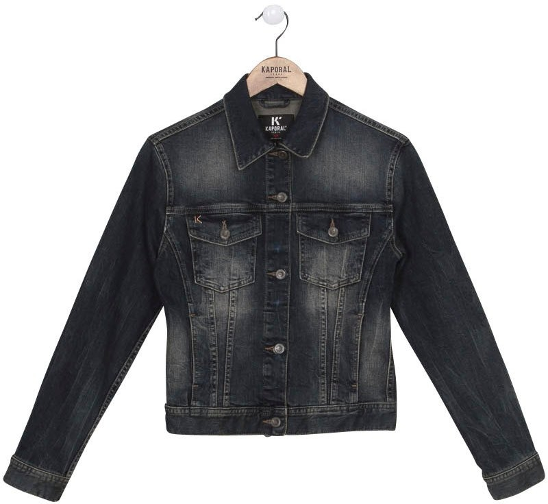 Kaporal jeansjack NISTA in lichte used-wassing bestellen: 30 dagen bedenktijd