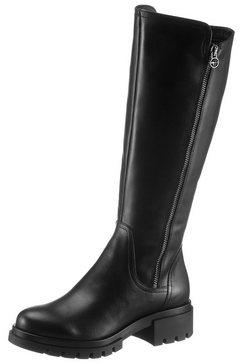 tamaris laarzen »denize« zwart