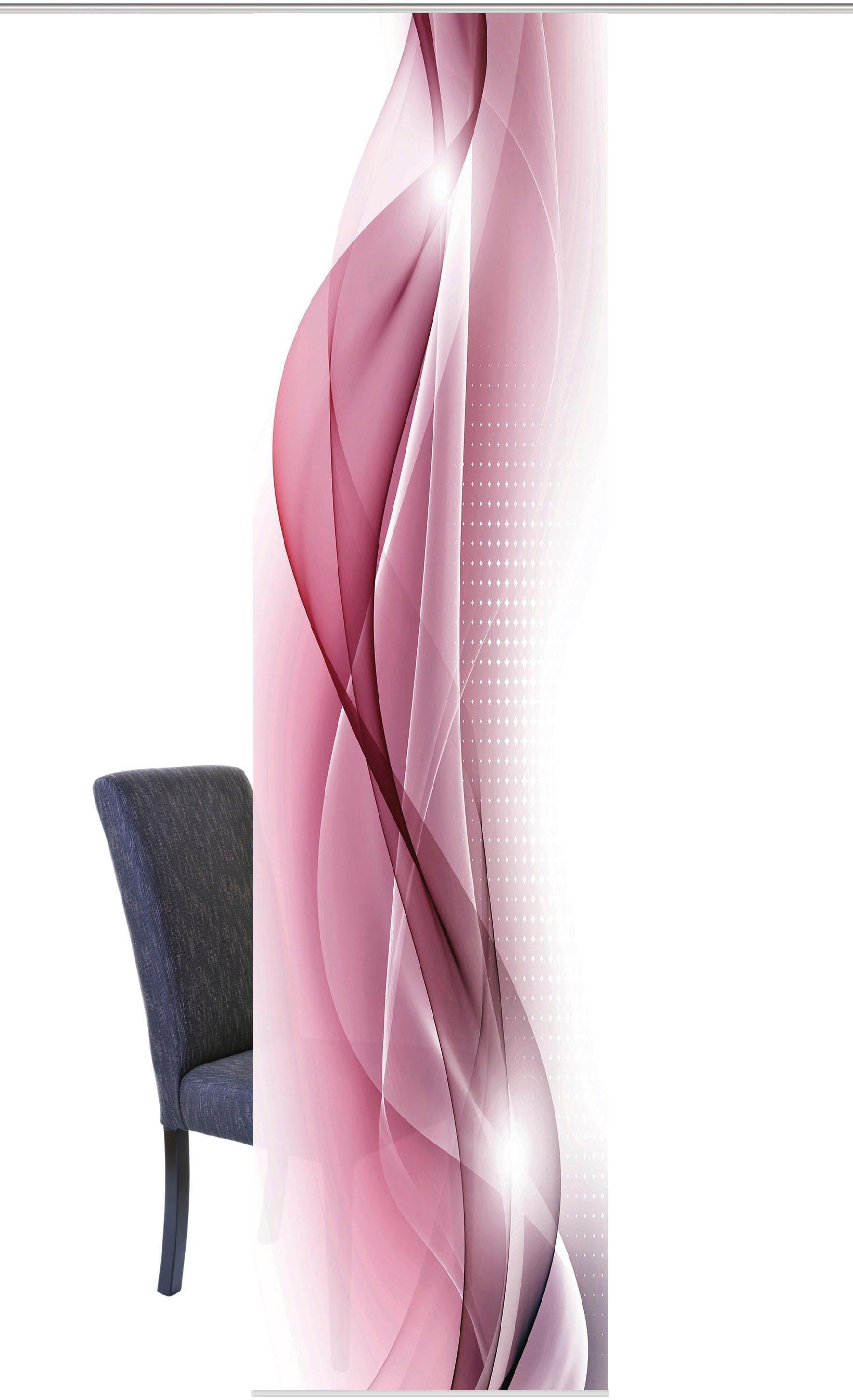 HOME WOHNIDEEN Paneelgordijn NEBLANA HxB: 245x60, digitale print van decostof (1 stuk) bij OTTO online kopen