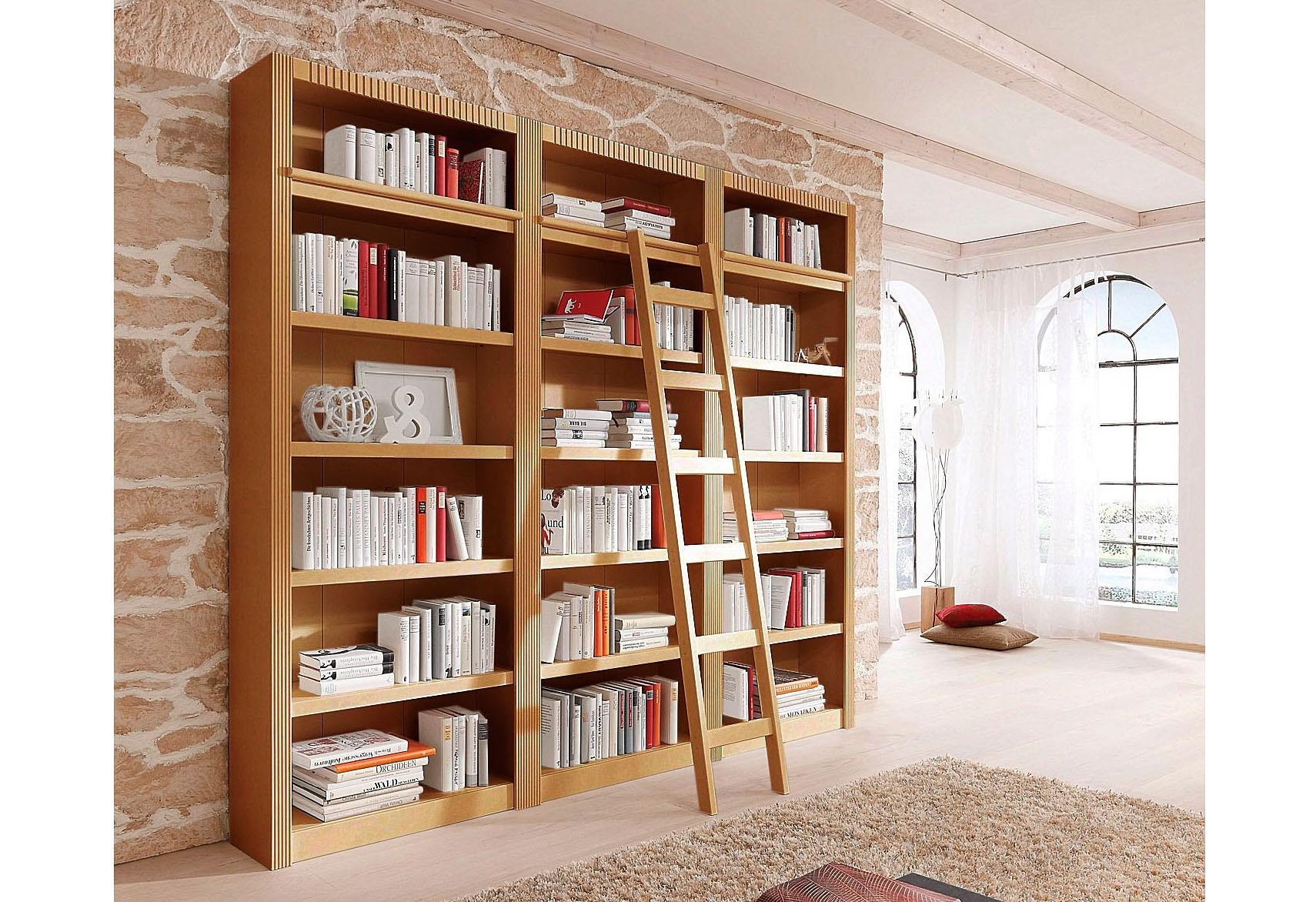 boekenkast 3 delig beige