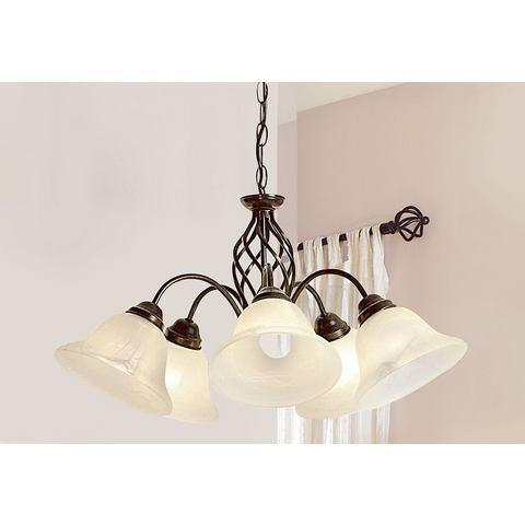 Hanglamp met 3 fittingen en 5 fittingen