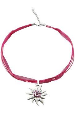 halsketting roze
