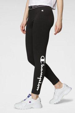 champion legging 7-8 legging zwart