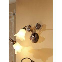 wandlamp »florentiner-serie« bruin