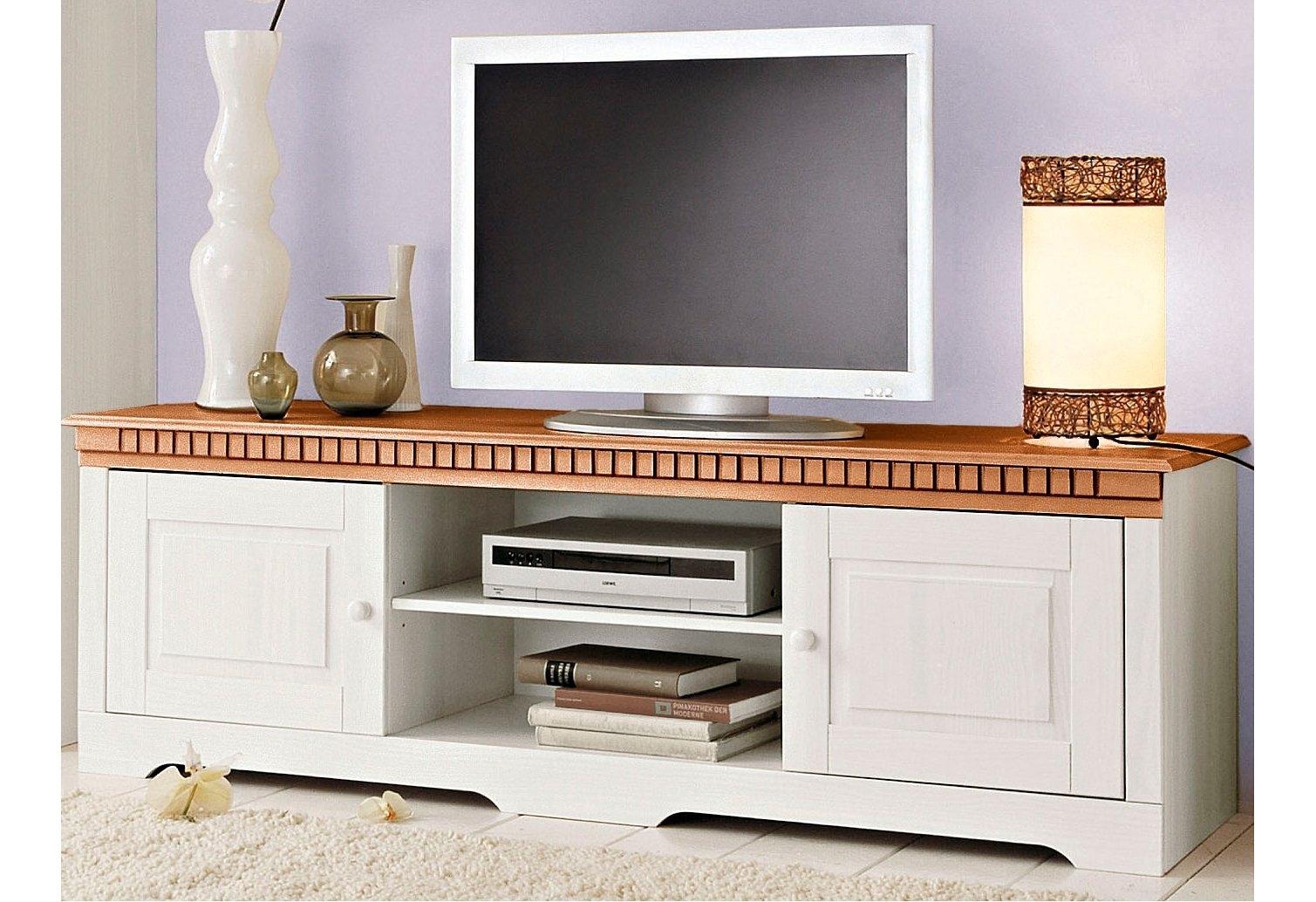 Home affaire tv-meubel Lisa van mooi massief grenenhout, breedte 175 cm voordelig en veilig online kopen