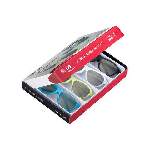 AG-F315-Party Pack, 3D-polarisatiebril