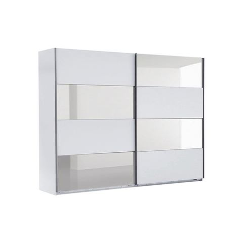 Kledingkasten Zweefdeurkast met spiegelelementen 638476