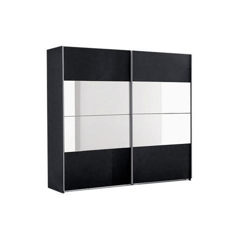 Kledingkasten Zweefdeurkast met spiegelelementen 573026