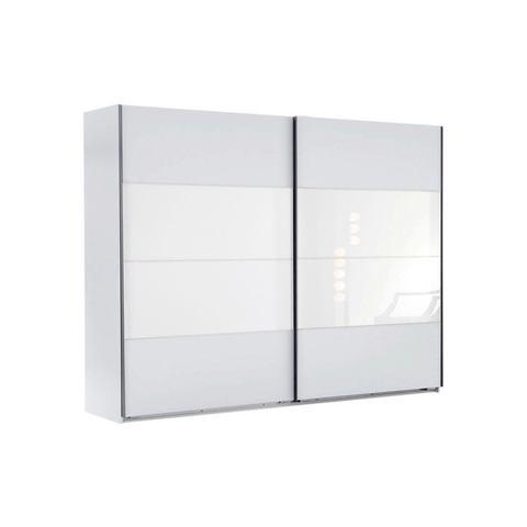 Kledingkasten Zweefdeurkast met glas 470050