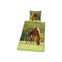 herding young collection kinderovertrekset »pferd mit fohlen«, herding young collection groen