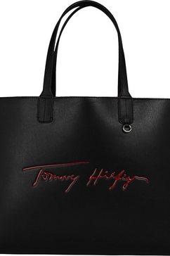 tommy hilfiger shopper zwart