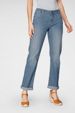 blue fire relax fit jeans »olivia-bf« blauw