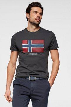 napapijri t-shirt grijs