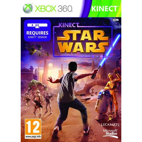 Game, Xbox 360, Kinect Star Wars