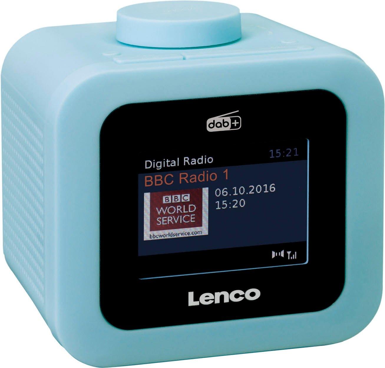 Lenco wekkerradio »CR-620 (Digitalradio (DAB+),FM-Tuner, 2 Watt) - gratis ruilen op otto.nl