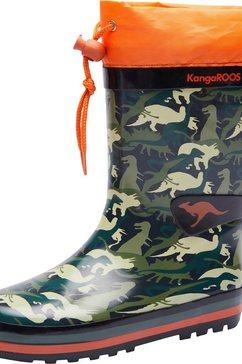 kangaroos rubberlaarzen k-rain groen