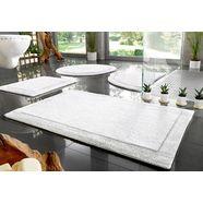 home affaire badmat kapra organisch katoen (1 stuk) wit