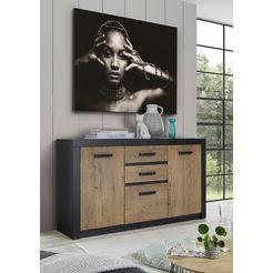 my home dressoir »bruegge« grijs