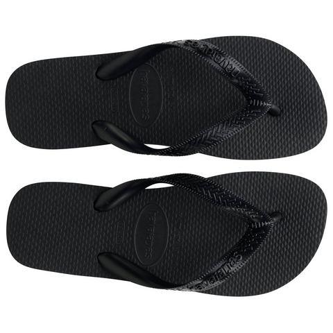 Havaianas Unisex Top Flip Flops Black EU 35-36-UK 2-3