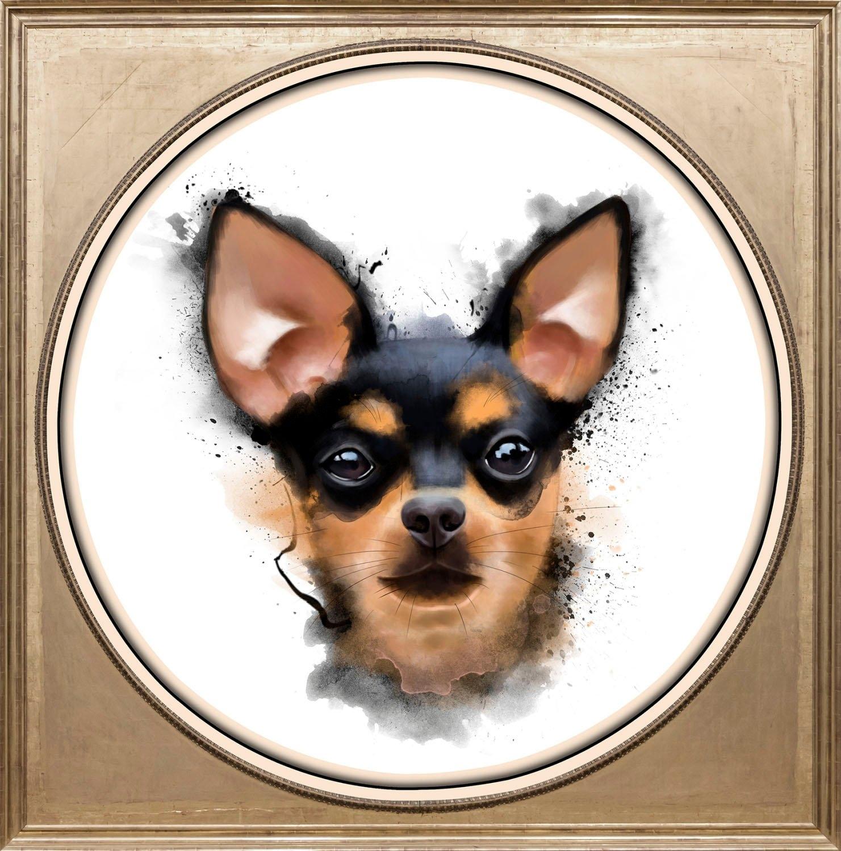 queence artprint op acrylglas »Hund« online kopen op otto.nl