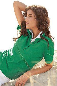 casual looks poloshirt in prachtige zomerkleuren groen
