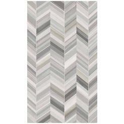bodenmeister fotobehang visgraat wit grijs grijs