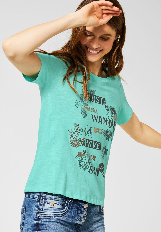 Cecil shirt met ronde hals - gratis ruilen op otto.nl