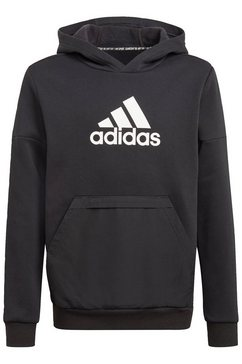 adidas performance hoodie »badge of sport fleece« zwart