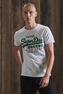superdry shirt met ronde hals »vl ns tee«