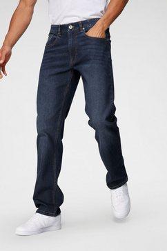 john devin straight jeans blauw