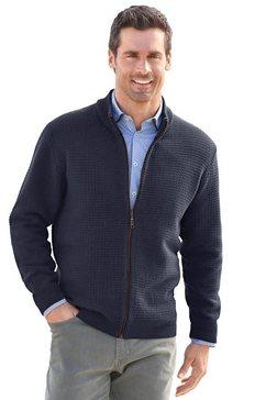 marco donati vest met staande kraag blauw