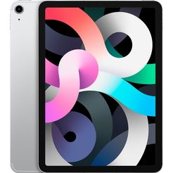 apple »ipad air wi-fi + cellular 64gb« tablet zilver