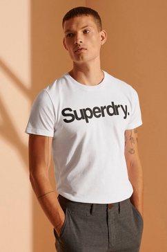 superdry shirt met ronde hals »cl ns tee«